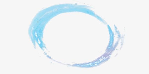 600x300 Aurora Blue Circle Vector Material, Circle Clipart, Blue, Aurora