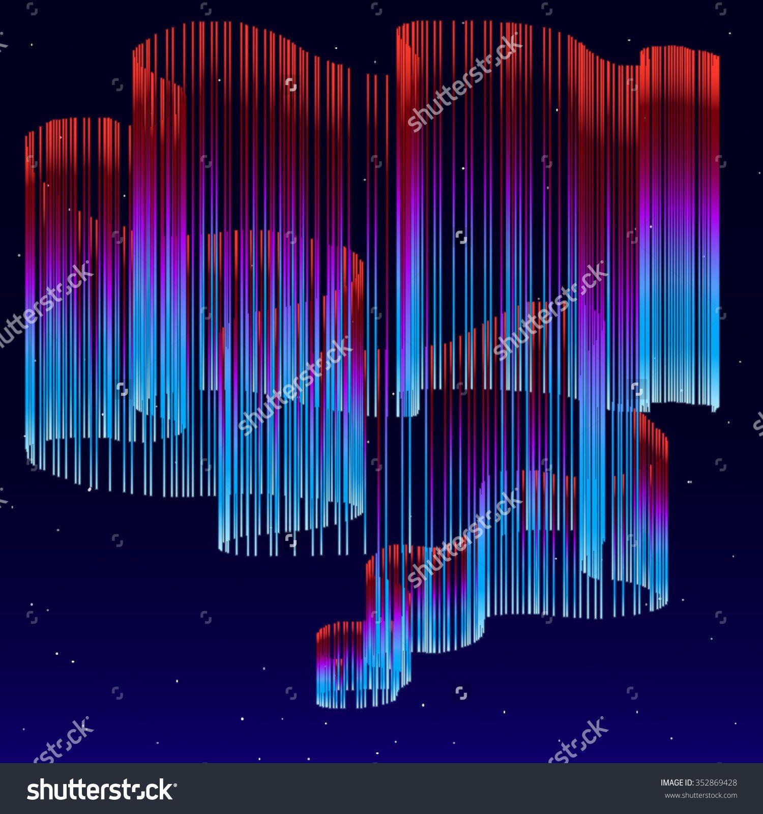 1500x1600 Aurora Borealis Background