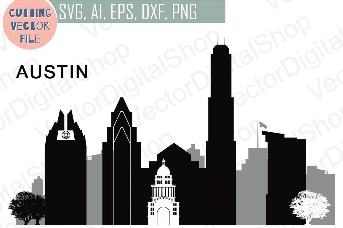 1158x772 Austin Vector, Texas Skyline Usa City, Svg, Jpg, Png, Dwg, Cdr