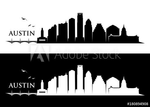 500x357 Austin Skyline