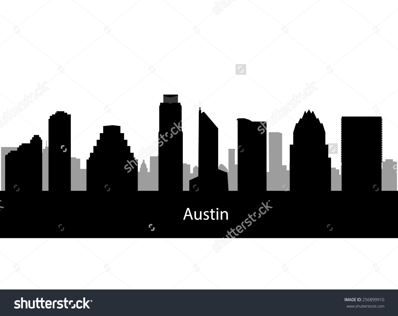 1500x1191 Austin Skyline Clipart