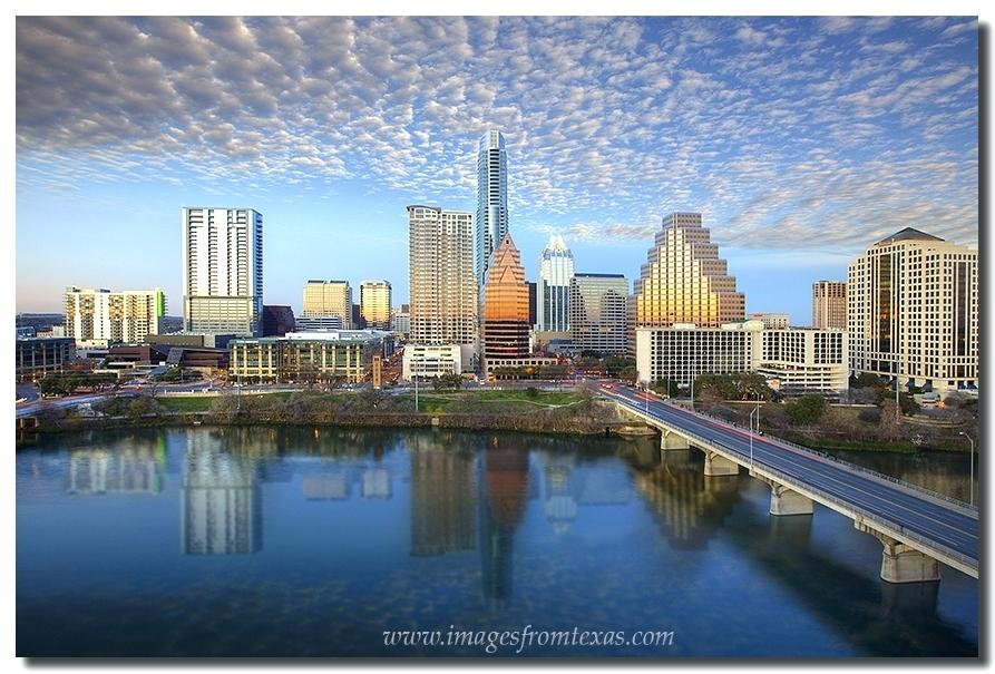 893x605 Austin Skyline Bird Lake Texas Vector Lightsforless