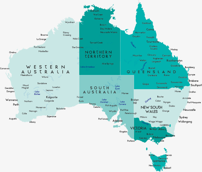 Australia Map Png.Australia Map Vector At Getdrawings Com Free For Personal Use