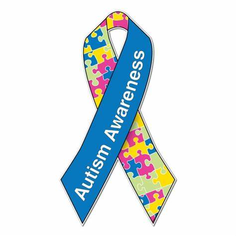 474x474 Autism Awareness Ribbon Vector. Autism Awareness Ribbon Logo Vector