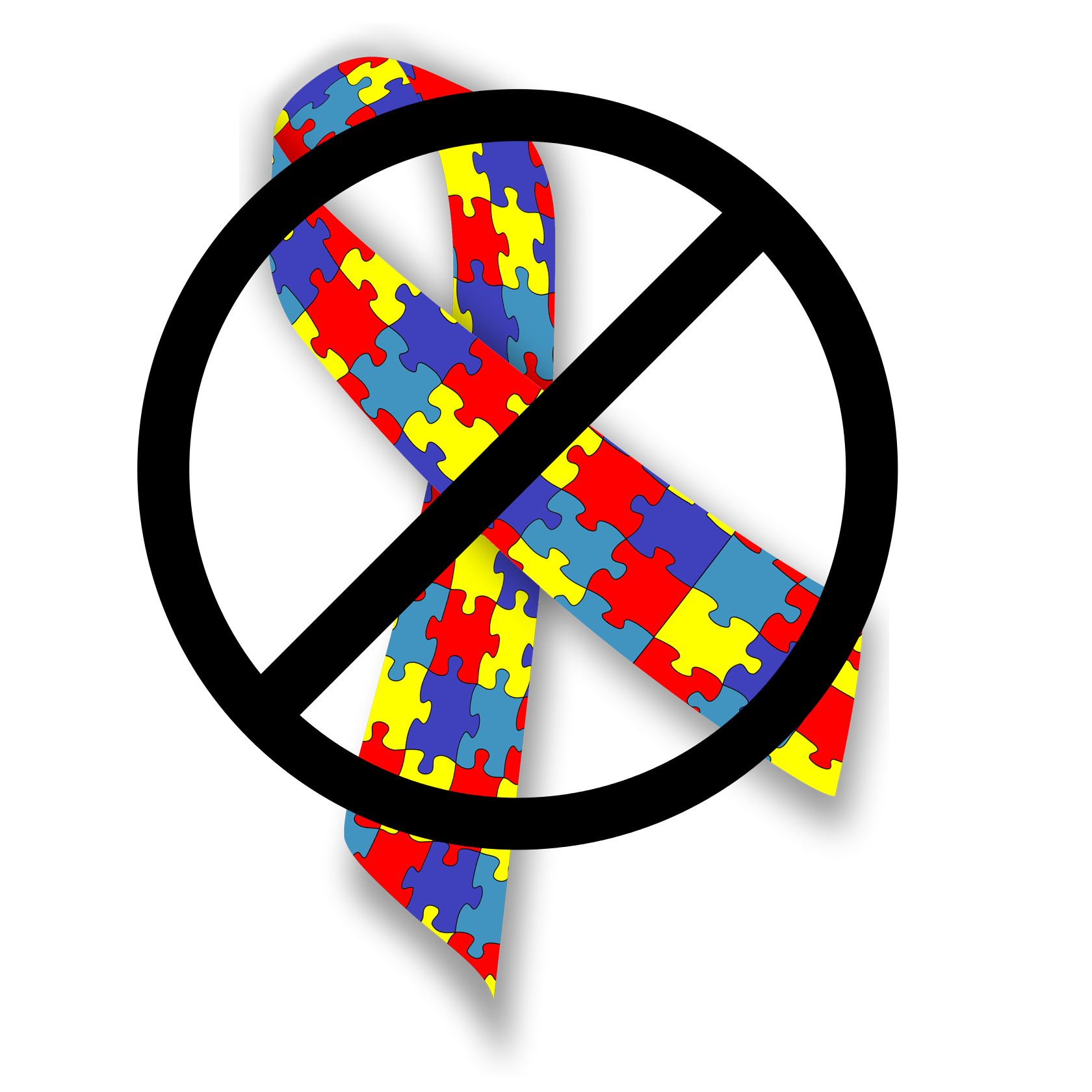Autism Ribbon Vector