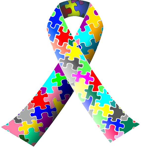 570x597 Autism Ribbon Clip Art