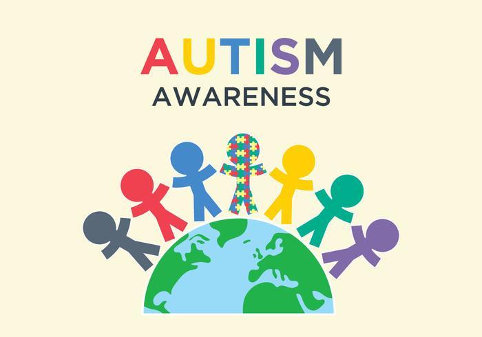 700x490 Autism Awareness Illustration