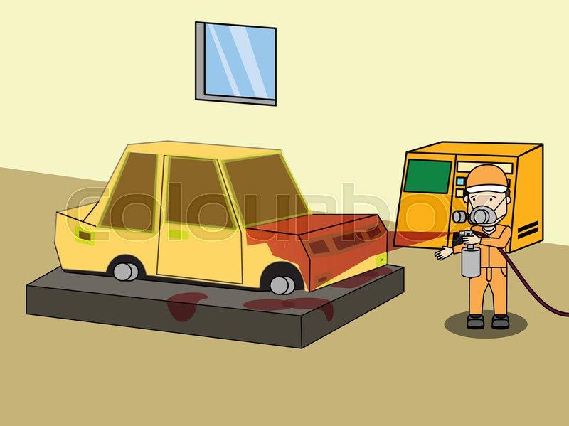 800x599 Specialist Spray Painting Auto Body