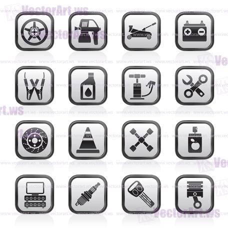456x456 Transportation And Car Repair Icons