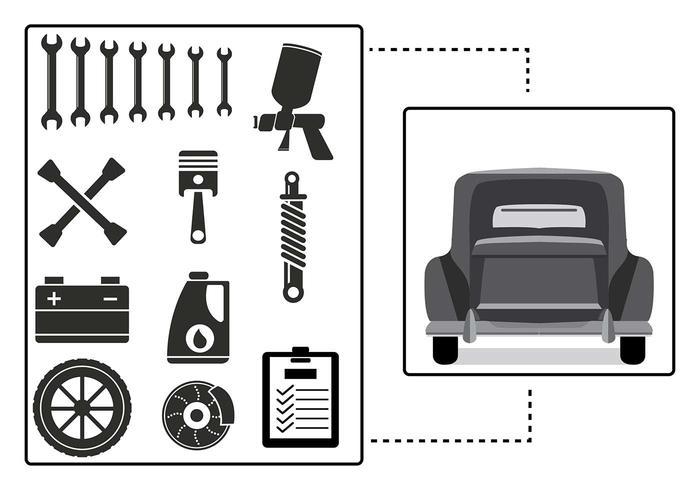 700x490 Auto Body Illustration Vector