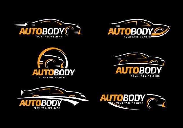 632x443 Auto Body Logo Template Free Vector Free Vector Download 426719