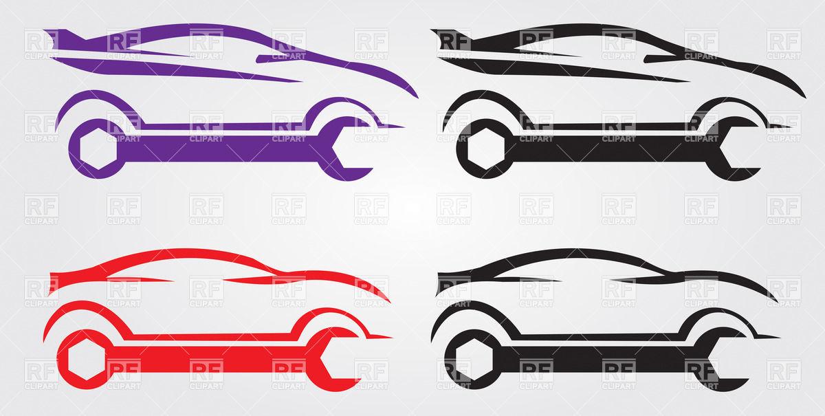 1200x605 Car Repair Service Logo Vector Image Vector Artwork Of