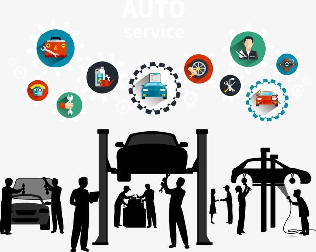 650x519 Vector Car Repair, Car Repair, Auto Repair, Character Png And
