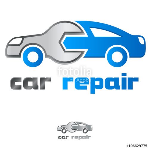 500x500 Service Station Car Repair Icon Stock Image And Royalty Free