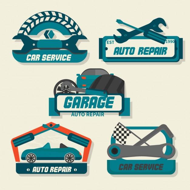 626x626 Auto Repair Logos Vector Free Download