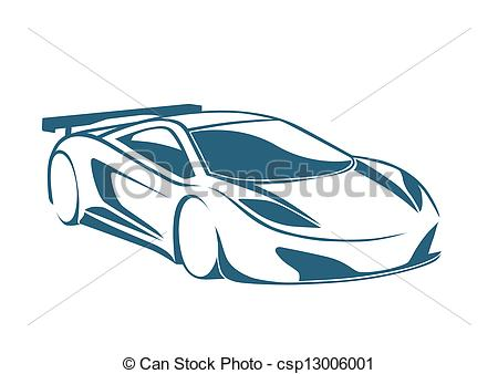 450x338 Racing Auto Logo And Speed Vector Clipart
