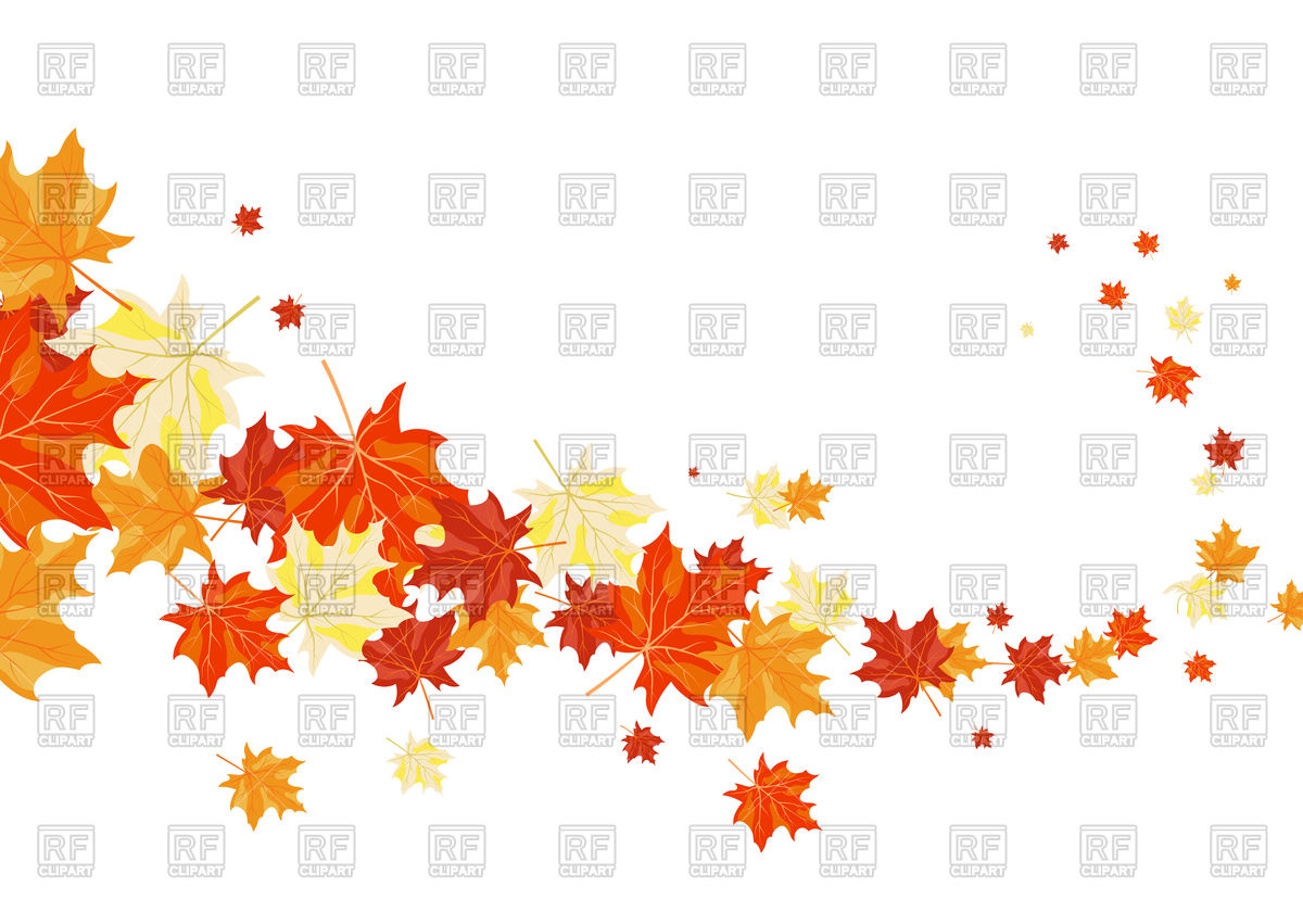 1200x840 Autumn Leaves Background Vector Image Vector Artwork Of