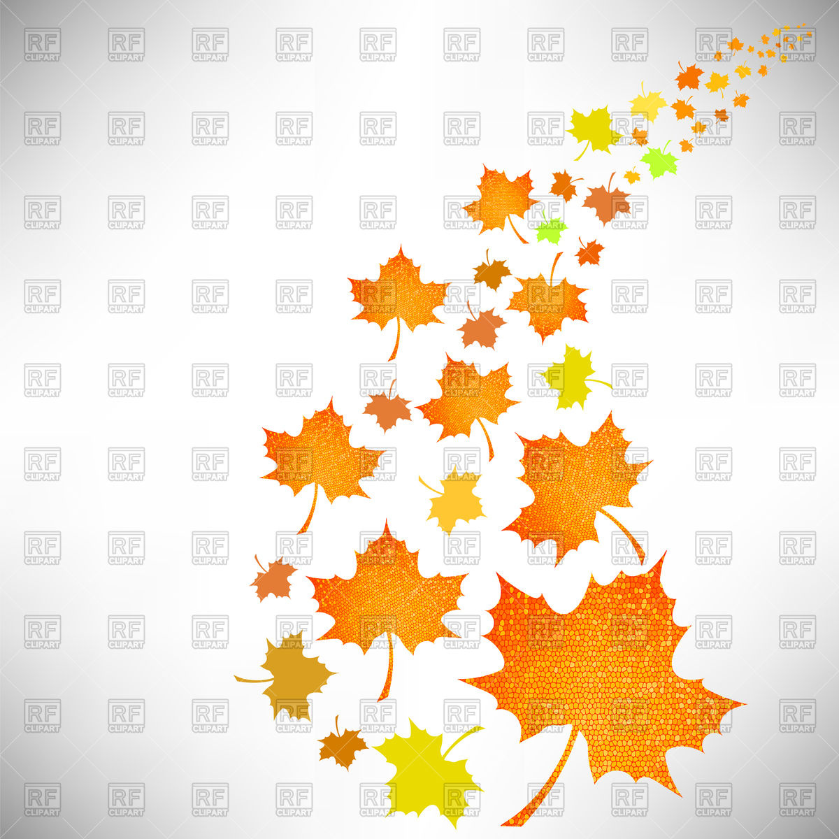 1200x1200 Falling Autumn Leaves Vector Image Vector Artwork Of Plants And