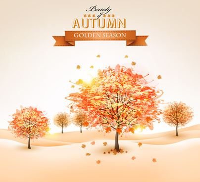 404x368 Autumn Tree Vector Free Free Vector Download (6,127 Free Vector