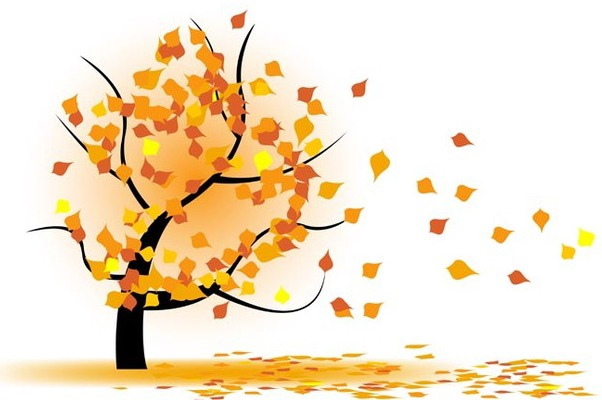 602x400 Autumn Tree In Wind Free Vector Download 339045 Cannypic