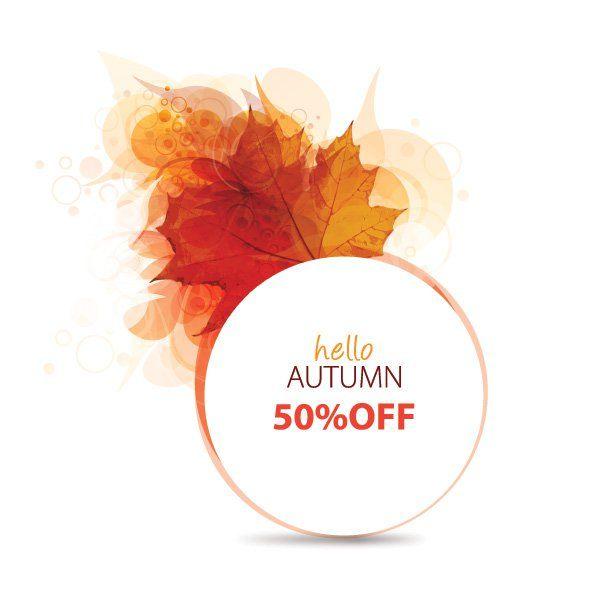 600x600 Hello Autumn Vector Graphic Vectors And Illustration