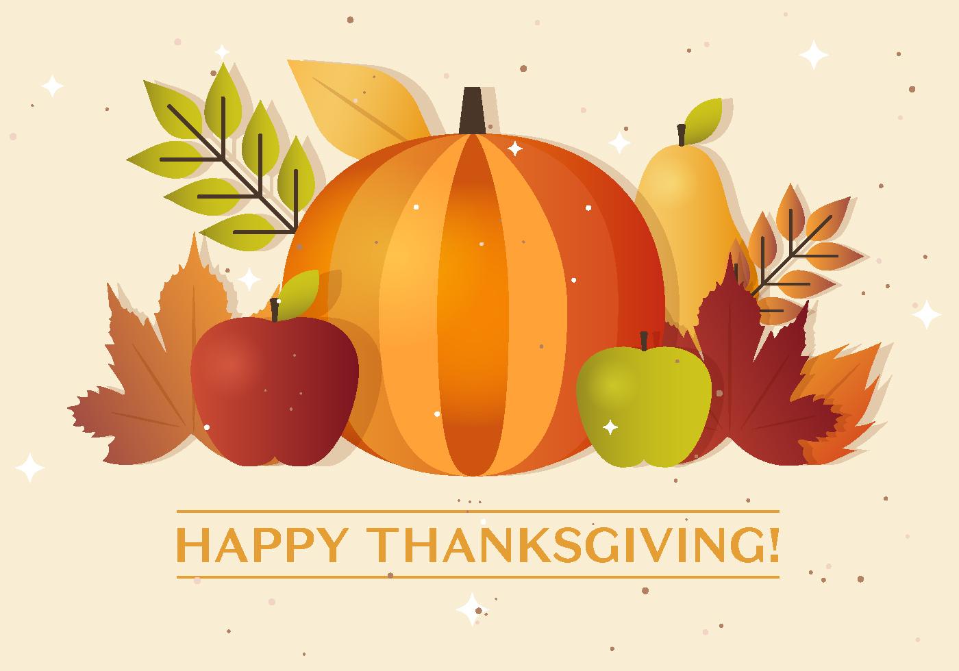 1400x980 Thanksgiving Autumn Vector Pumpkin