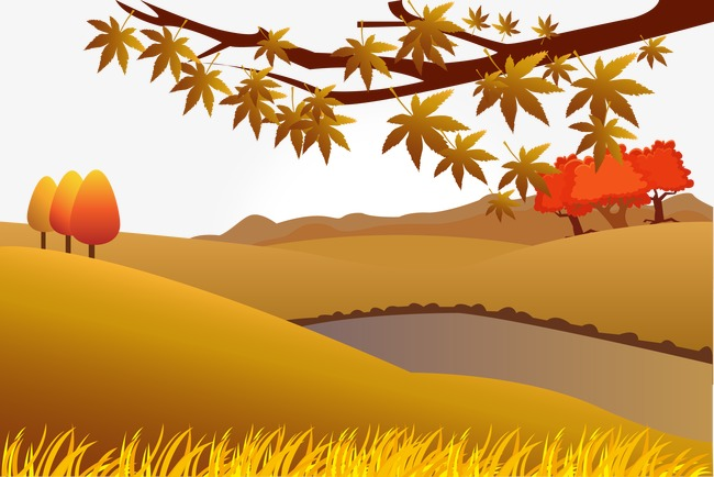 650x434 Vector Autumn, Fall, Vector, Mountain Png And Vector For Free Download