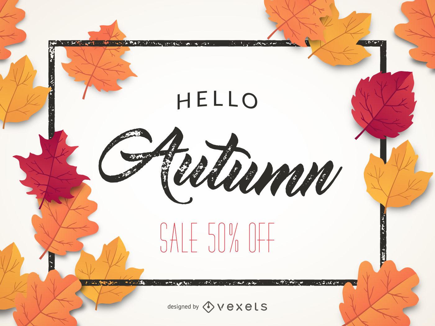 1401x1050 Autumn Sale Graphic