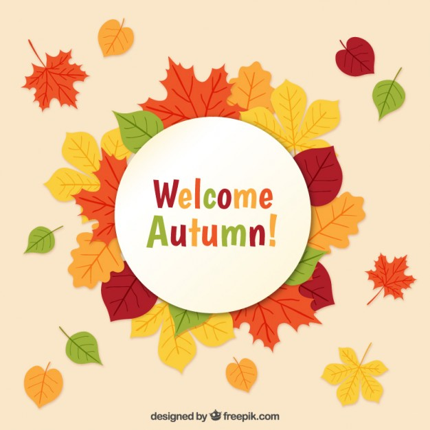 626x626 Welcome Autumn! Vector Free Download