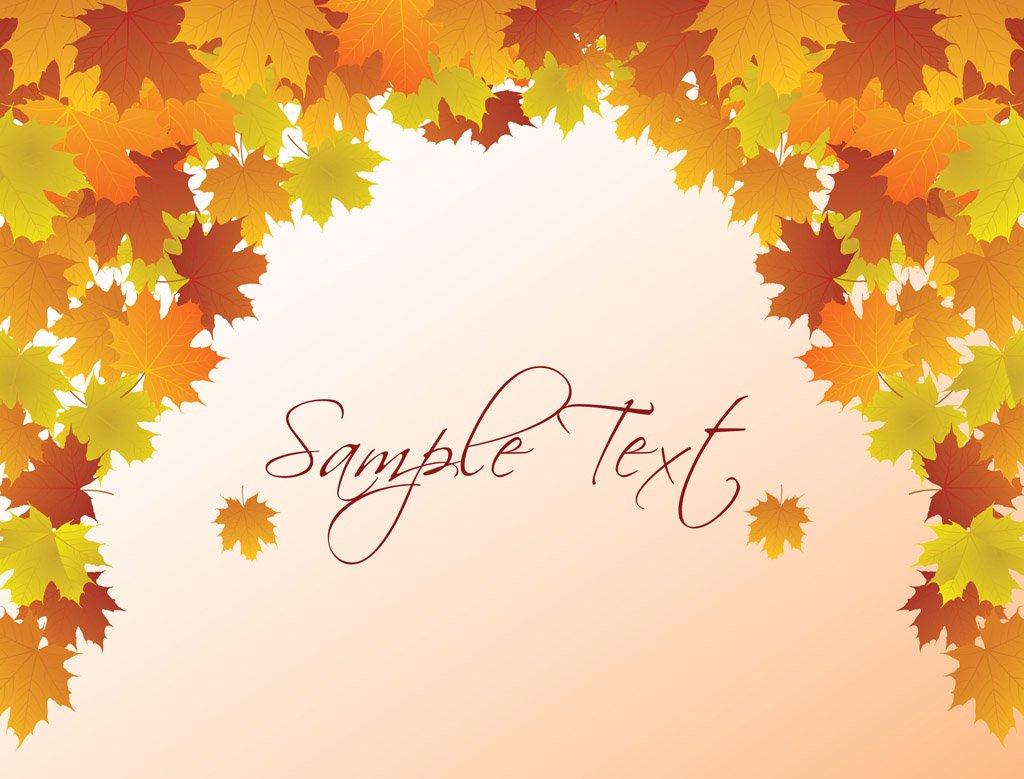1024x779 Autumn Vector Background Vector Art Amp Graphics