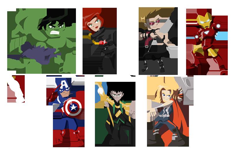 Avengers Vector