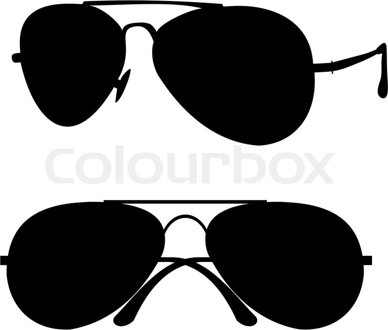 800x680 Black Classical Sunglasses In Metal Frame