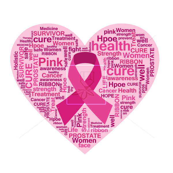 600x600 Breast Cancer Awareness Ribbon Vector Free Vectors