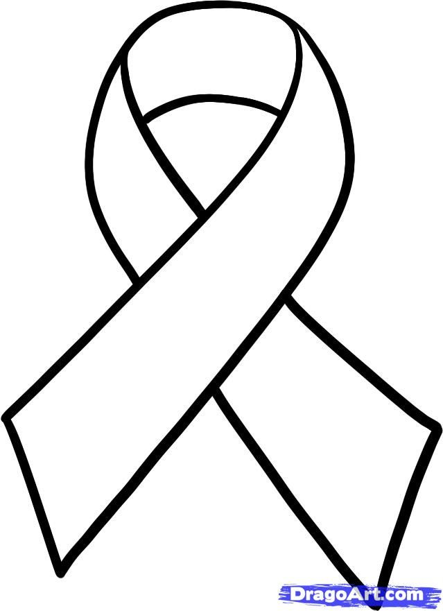639x881 Cancer Ribbon Colors How To Draw A Cancer Ribbon, Breast Cancer