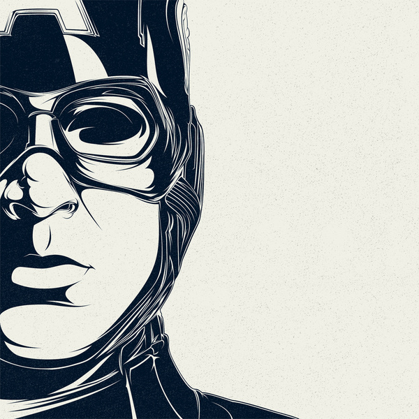 600x600 Awesome Vector Portraits By Alejandro Garcia Art Spire