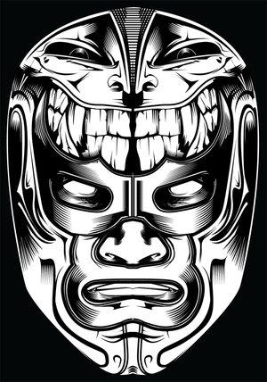 300x428 Diverse Vector Masks From Across The Globe