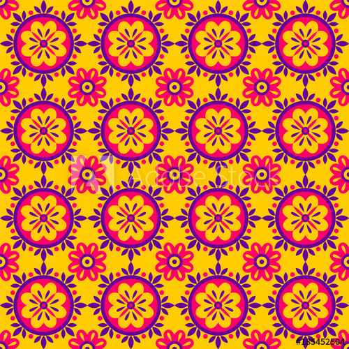 500x500 Seamless Geometric Ethnic Pattern. Fashion Mexican, Navajo Or