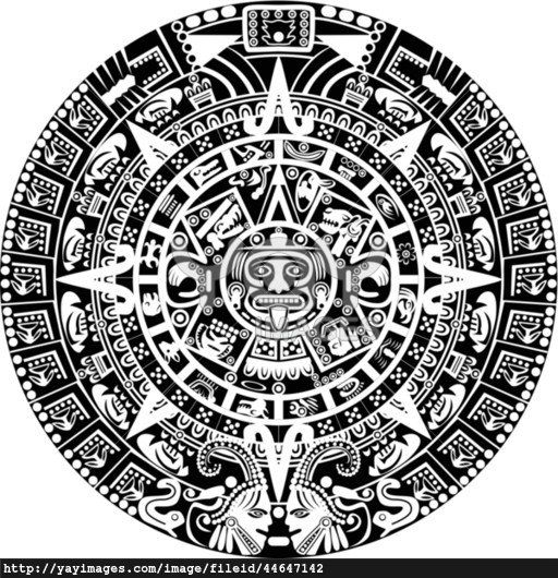 Calendario Maya Vector.Aztec Sun Vector At Getdrawings Com Free For Personal Use