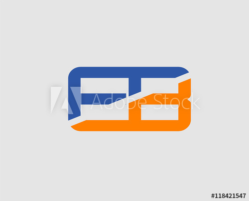 500x403 Letter E And B Logo Vector