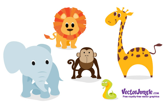 Baby Animal Vector