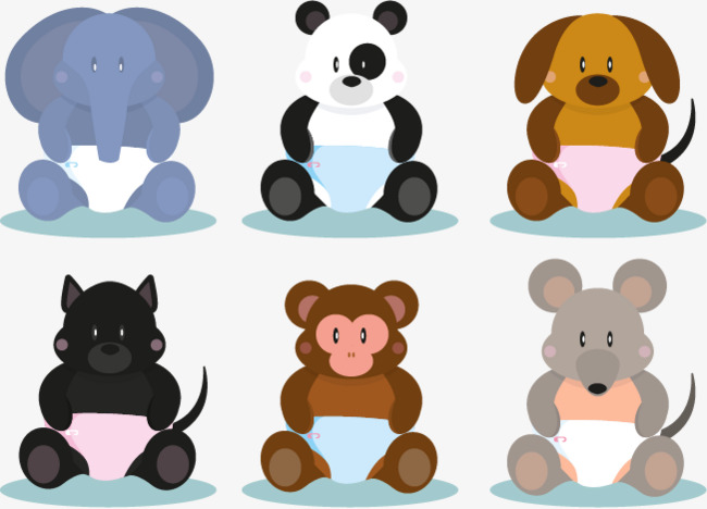 650x468 Cute Baby Animals, Baby Vector, Baby Elephant, Baby Panda Png And