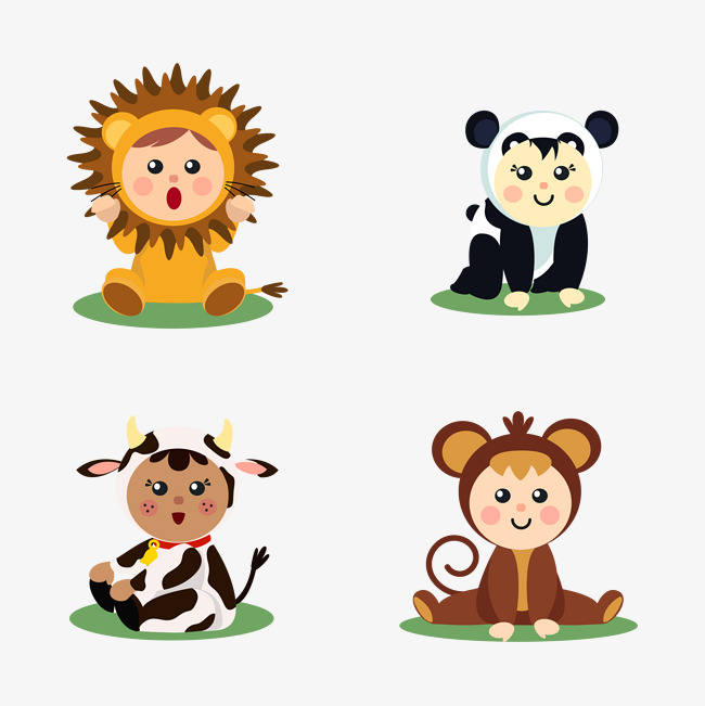 650x651 Baby Animals, Baby Vector, Lion, Panda Png And Vector For Free
