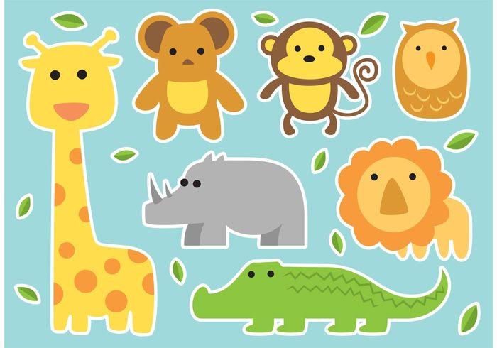 700x490 Baby Vector Animals