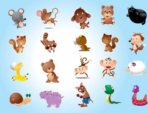 480x368 Baby Animals Free Vector Download (8,131 Free Vector) For