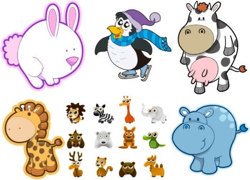 511x368 Cute Baby Animal Clipart Free Vector Download (14,177 Free Vector