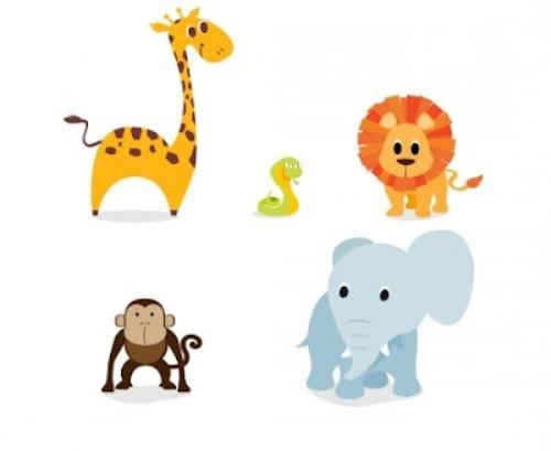 500x409 Baby Animal Clipart Baby Wallpaper