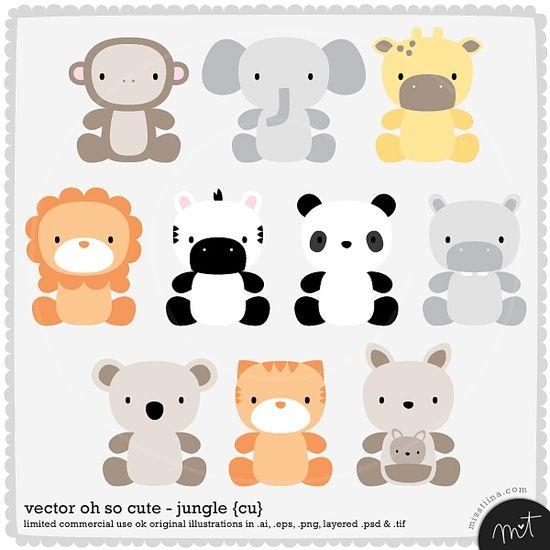550x550 Baby Animal Vectors. Baby Baby Animals, Babies And
