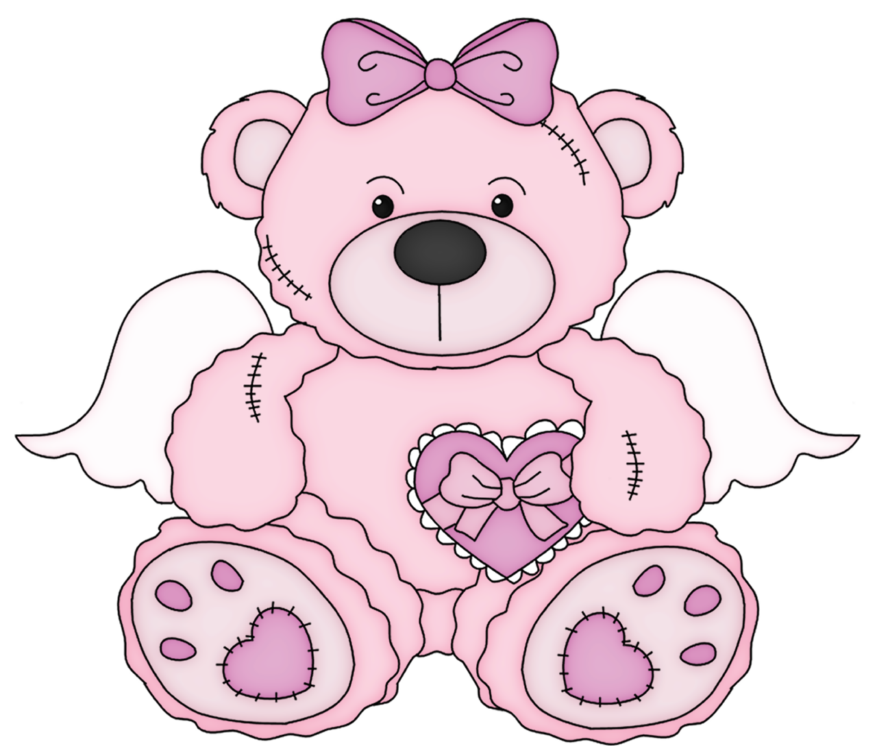 1280x1101 Cute Bear Cute Baby Girl Clip Art Cute Teddy Bear Vector