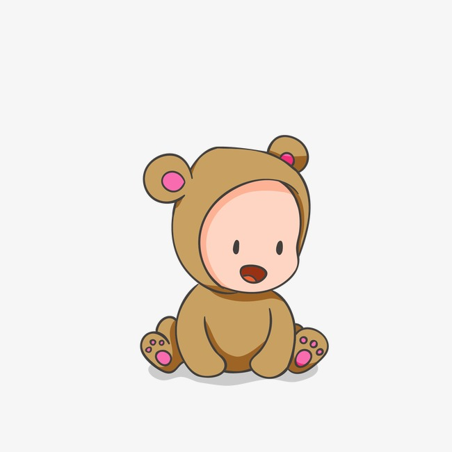 650x650 Baby Bear, Baby Vector, Bear Vector, Baby Png And Vector For Free