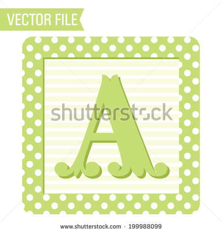 450x470 Baby Block Letters Clipart Collection